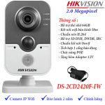 CAMERA IP WIFI HIKVISION DS-2CD2420F-IW 1080p